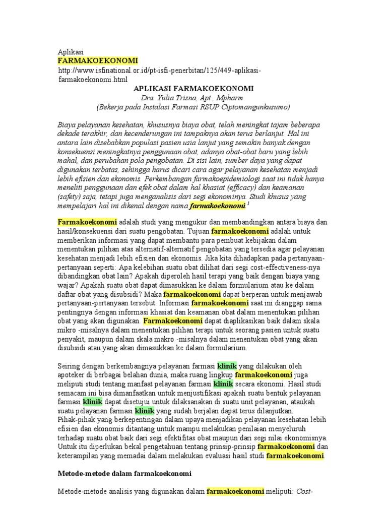 judul thesis farmasi klinik Farrasy: kumpulan judul skripsi thesis farmasi 2010 sebagai guru besar farmakologi dan farmasi klinik fakultas dr umar anggoro jenie, msc.