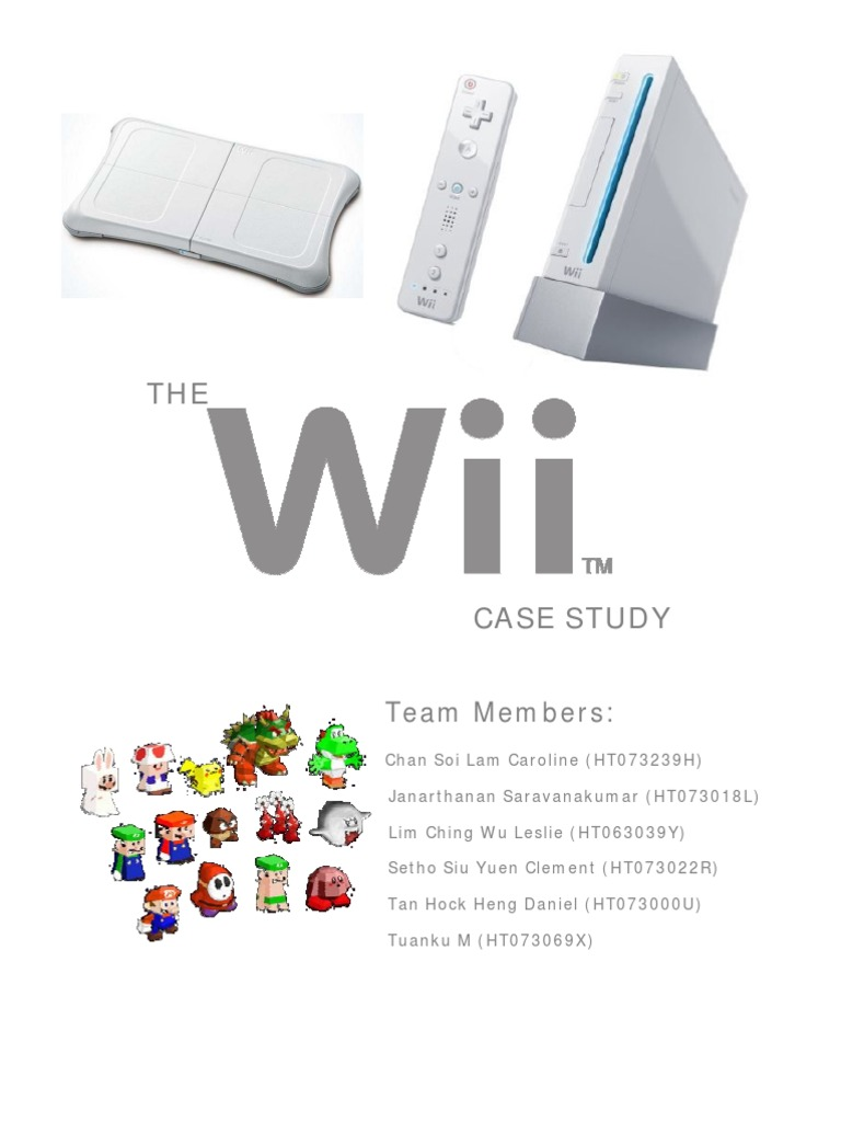 case analysis nintendo the wii
