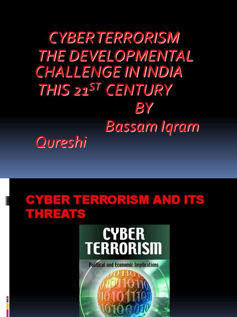 a report on cyber terrorism and the practices and challenges against online terrorism
