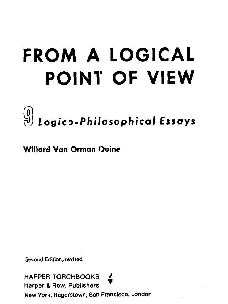 "essay essay in j.dewey ontological other philosophy relativity Quine's semantic relativity appeal to ontological relativity2 he argues that there is no fact of the ""ontological relativity,"" journal of philosophy 65."