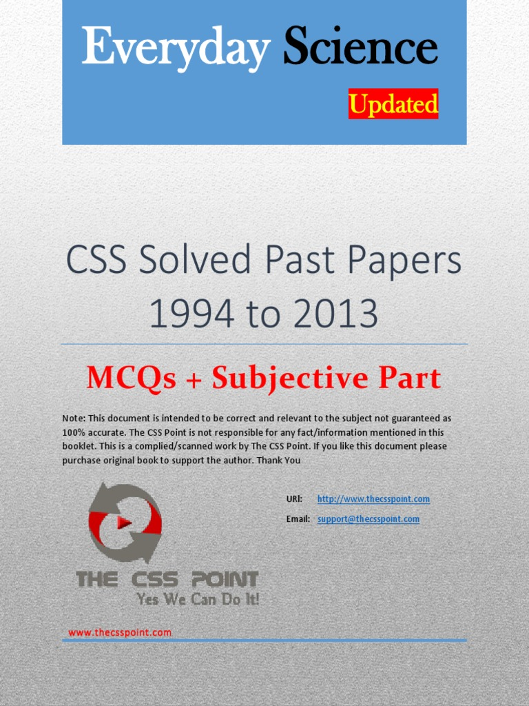 research past paper