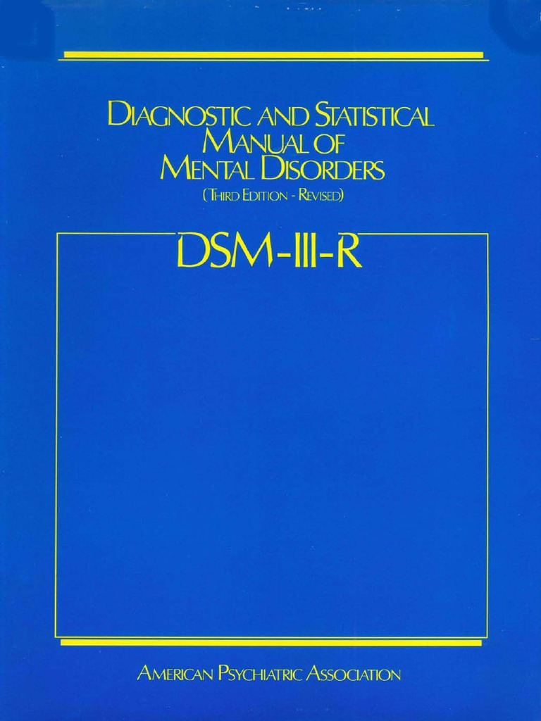 diagnosis of mental disorders in the united states