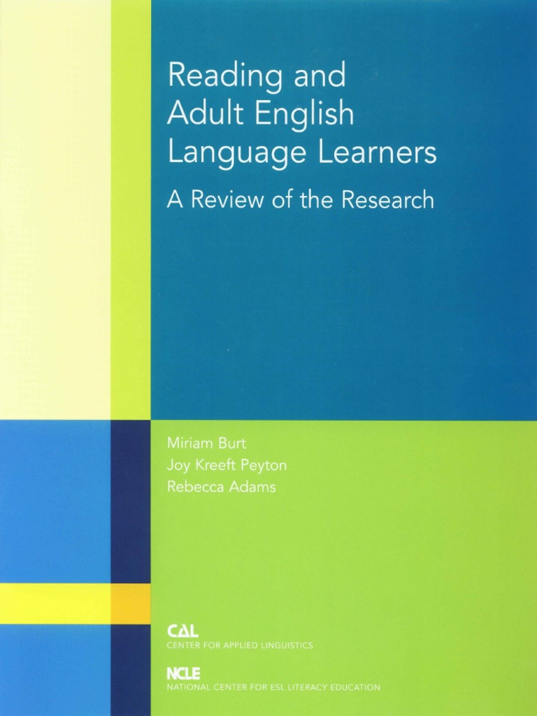 research papers on english language learning 2 stefanson, tara o factors affecting english language learners' literacy in us schools abstract this paper is designed to address the issue of literacy acquisition among high school aged.