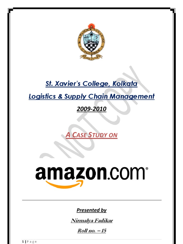 case study and swot analysis for amazon com