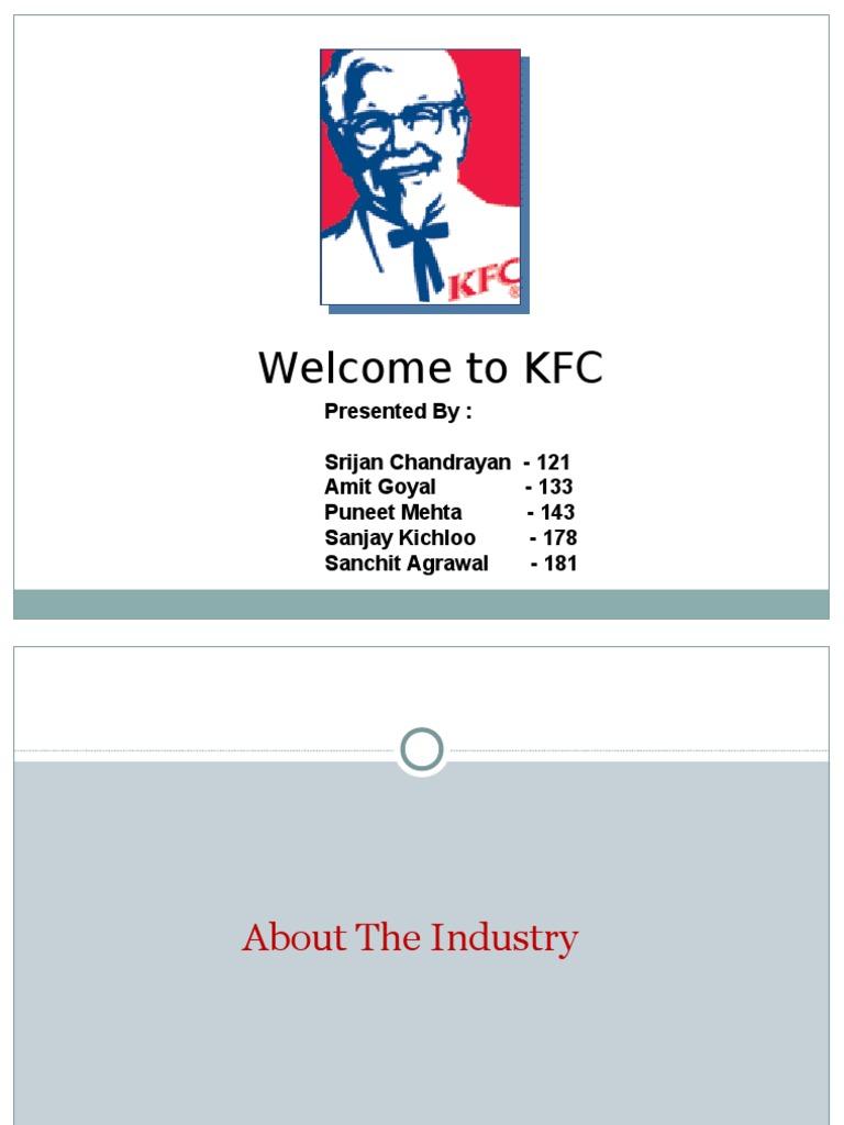 kfc marketing plan 2 essay Marketing analysis - kfc wwwwriteworkcom/essay/marketing-analysis-kfc is the most important element when determining a business' marketing plan.