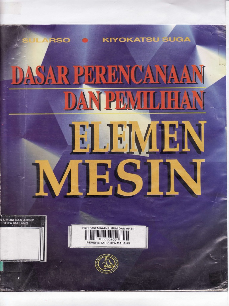 ELEMEN MESIN SULARSO FREE EBOOKREAD Download