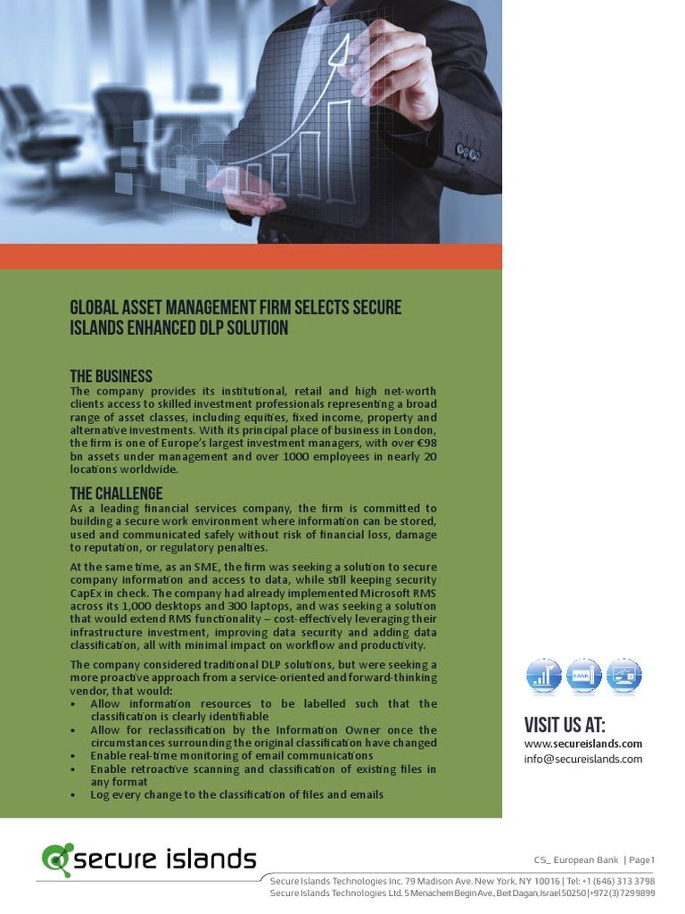 financial data management essay