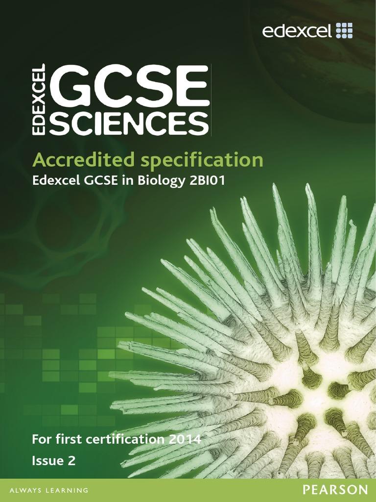 edexcel bio coursework