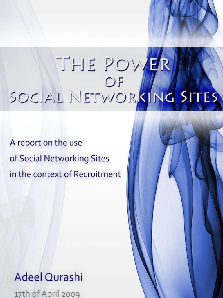 social networking thesis papers Social media has consumed our society 47% of american adults used social networking sites in 2011 like facebook, myspace, and twitter up from 26% in.