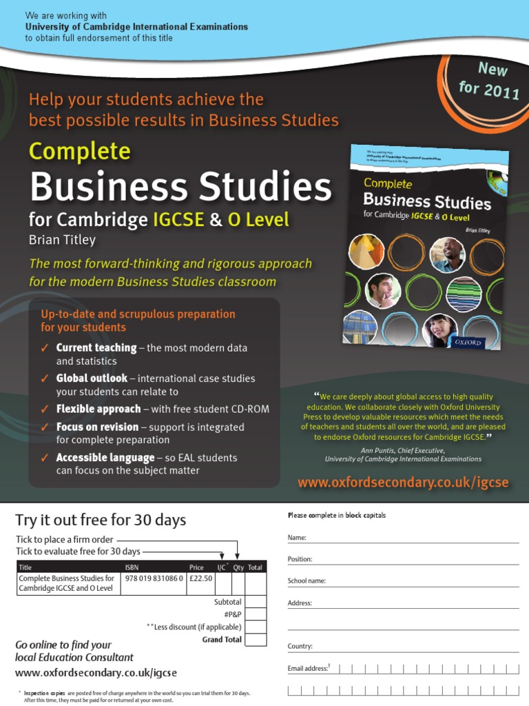 business studies coursework help