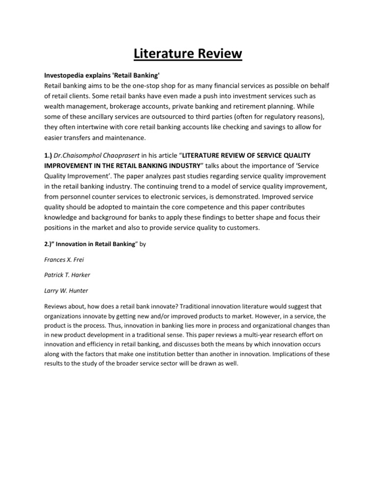 literature review on retail marketing Search for jobs related to literature review retail marketing or hire on the world's largest freelancing marketplace with 13m+ jobs it's free to sign up and bid on jobs.