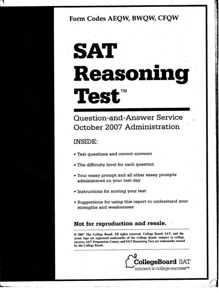 college board sat essay prompts 2013