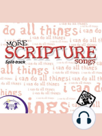 More Scripture Songs (Split track)