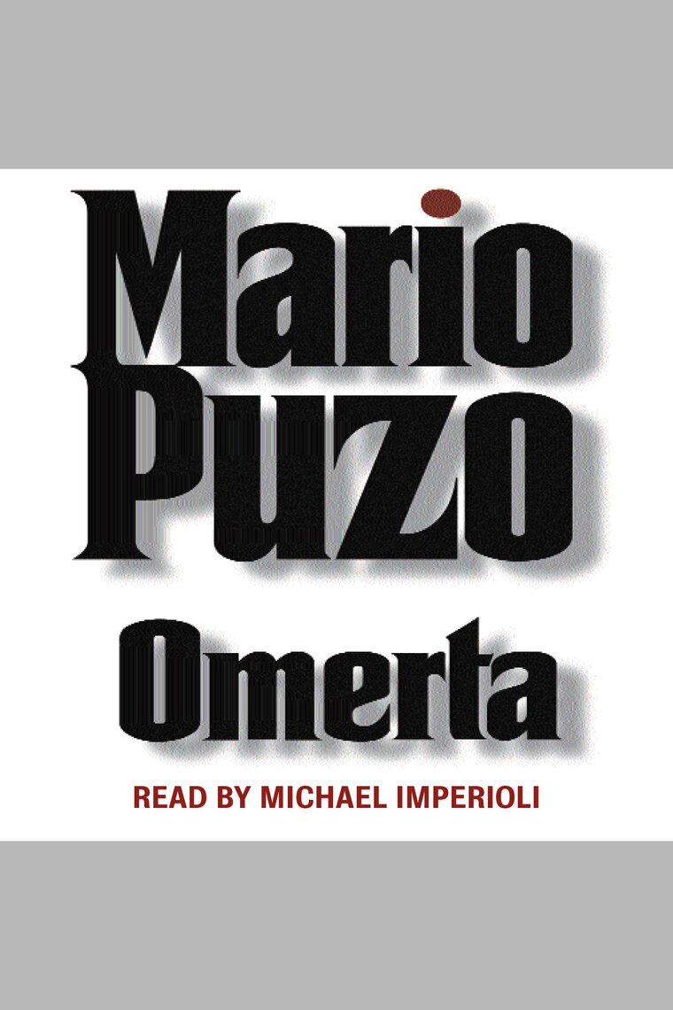 Omerta by Mario Puzo and Michael Imperioli - Listen Online