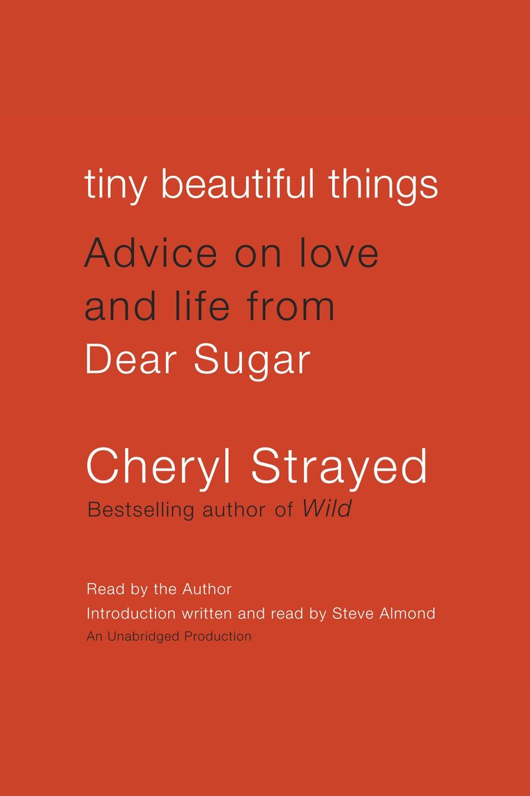 Image result for Tiny Beautiful Things - Cheryl Strayed