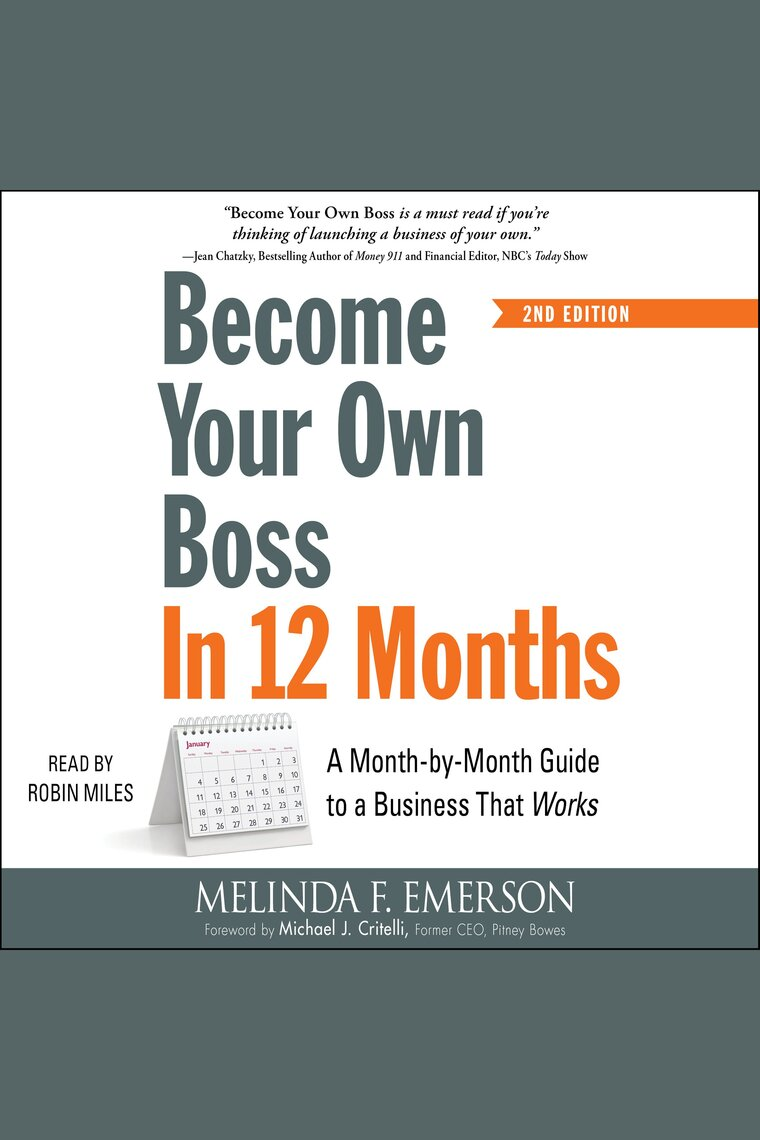 Become Your Own Boss in 12 Months by Melinda F Emerson and Robin Miles by Melinda  F Emerson and Robin Miles - Listen Online