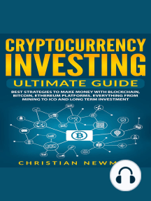 Listen to Cryptocurrency Investing Ultimate Guide: Best Strategies To Make  Money With Blockchain, Bitcoin, Ethereum Platforms. Everything from Mining  to ICO and Long Term Investment. Audiobook by Christian Newman