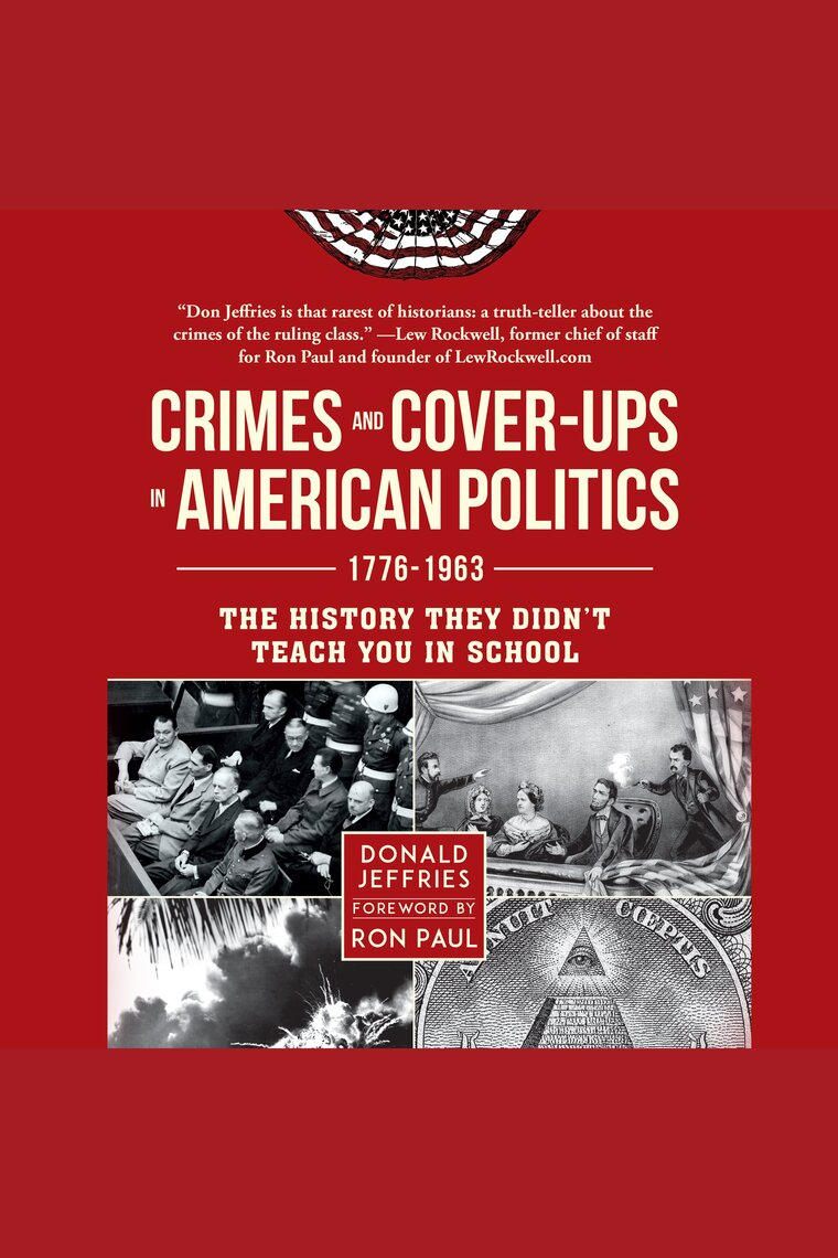 Listen To Crimes And Cover Ups In American Politics Audiobook By