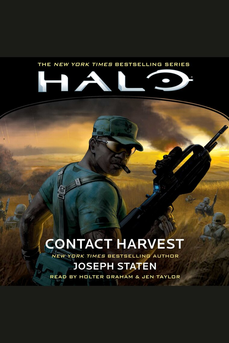 Listen To Halo  Contact Harvest Audiobook By Joseph Staten  Holter Graham  And Jen Taylor