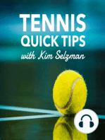 138 High-Percentage Tennis Shots in Singles