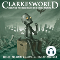 """Forever Bound by Joe Haldeman (audio): This episode features """"Forever Bound"""" written by Joe Haldeman. Originally published in Warriors, edited by Gardner Dozois and George R. R. Martin. Reprinted in the the July issue of Clarkesworld Magazine and read by Kate Baker.  Text of this story can"""