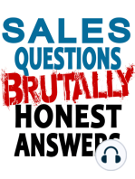WHAT CLIENTS WANT FROM A SALES PERSON AND WHY???