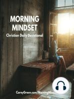 10-18-18 Morning Mindset Christian Daily Devotional