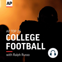 Screen pass: Critiquing College Football on TV: A college football Saturday is the ultimate multi-screen experience. Veteran sports writer John Walters writes a weekly column for the Athletic, capturing the best and worst of the small screen. He joins AP's Ralph Russo to talk about ESPN's...