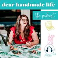 Building a Business Around Your Core Values: Today on the Dear Handmade Life podcast I'm talking about building a business around your core values with founder of Thimblepress and consultant/mentor for creative business owners Kristen Ley. I chat with Kristen about how having defined core...