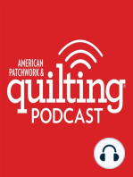4-3-17 Cindy Grisdela, Kelly Bowser, Darlene Zimmerman, & Stephanie Kendron on Sloan's Talk show for American Patchwork and Quilting Radio