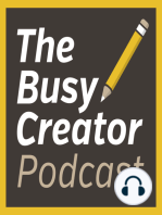 Programmer & Developer Ben Borowski explores the creative side of software and shares his recent personal projects – The Busy Creator Podcast 62
