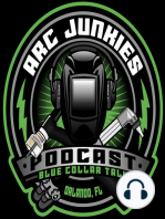 59. ARC JUNKIES LIVE from FABTECH 2018 w/ Jody Collier, Bob Moffatt and Ian Johnson