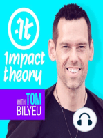 #129 Trent Shelton on Feeling Fear or Anxiety | Impact Theory