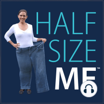 153 – Half Size Me: Half Size Me Community Member Sara F.: To find out how to keep The Half Size Me Show coming out every week, click here: http://halfsizeme.com/patron In this episode of Half Size Me, Heather talks to Sara about why a metabolism reset was important for Sara to maintain her weight in a healthy...