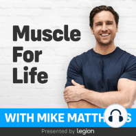 How to Get Stronger Than Ever in 3 Simple Steps: If you want to know exactly what you have to do inside and outside of the gym to get really strong, then you want to listen to this podcast.