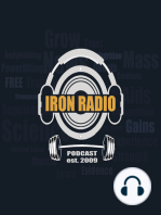 Episode 42 IronRadio - Guest Nick Burd Topic Optimal Lifting Intensity and Volume