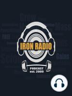 Episode 141 IronRadio - Guest Paul Carter Topic 80-10-10 Training Rule