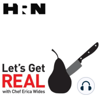 Episode 135: The Raw and the Burnt: What does the word done mean to you? Is it a raw slab of red meat served as is on a plate, or do you like it cooked into a greyish-black oblivion? This week on Lets Get Real, Erica Wides discusses the concept of doneness. Can doneness function on a spectr