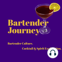 """Bitters - The World Beyond Angostura: This week on the Bartender Journey Episode #66, Vince interviews Miles Thomas. Miles is a Bartender and theproprietor of the Scrappy Bitterscompany.Bitters arethe Bartenders """"Salt & Pepper"""" - a great way to add complex flavors to cocktails.Take a lis..."""