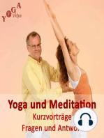 Meditieren und Yoga