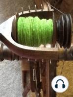 YST Episode 52 Walnut Leaf and Indigo dyeing of fiber