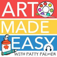 Draw, Paint, Sparkle Book Chat – All About Directed Drawing: AME 106: Today on AME, I starting a brand new series: The Draw, Paint, Sparkle Book Chat, where I read sections of my book and give you extra insight to how my teaching philosophy has worked throughout the years and how it can help you create art with your kids...