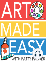 Draw, Paint, Sparkle Book Chat – How to Host Art Sessions in Your Home