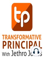 Three Fundamentals for Change with Bob Sonju Transformative Principal 031