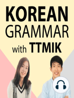Level 3 Lesson 13 / Making Adjectives / Descriptive Verbs + -ㄴ 명사
