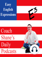 0531 Daily Easy English Expression PODCAST—let it slide