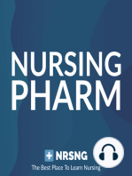 Oxycodone (Oxycontin) Nursing Pharmacology Considerations
