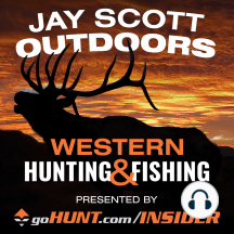 """211: Lorenzo Sartini Founder goHUNT.com Utah Elk Hunt and Outlook on Upcoming Mule Deer Hunts: Jay Scott talks with Founder of goHUNT.com Lorenzo Sartini about his Utah archery elk hunt in which he harvests a great bull, whats going on at goHUNT.com INSIDER, and upcoming Mule Deer hunts. Download and Subscribe to """"Jay Scott Outdoors Western Big Ga..."""