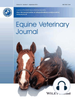 EVJ Podcast, No. 8, June 2015 - Unicortical condylar fracture of the Thoroughbred fetlock & Using percutaneous electrical nerve stimulation for the management of trigeminal-mediated headshaking