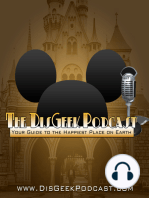 The DisGeek Podcast 90 - Luigi's Flying Tires - Stay or Go?